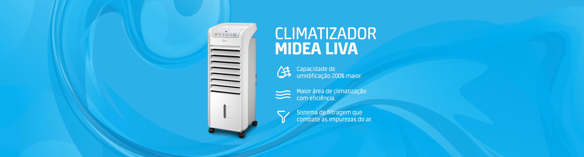 Climatizador Midea Liva