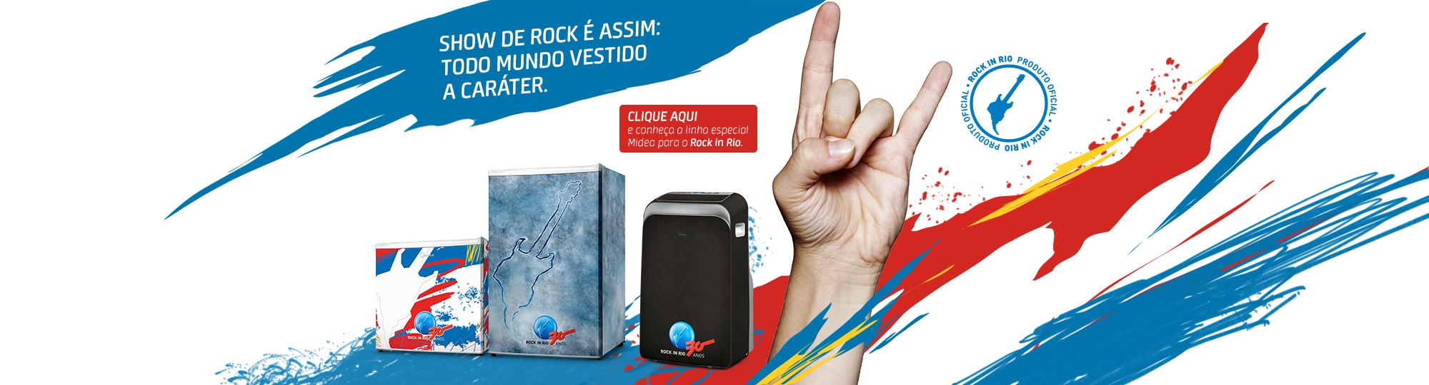 Banner Rock in Rio