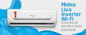 Midea Liva Inverter Wi-Fi Frio 9.000 BTU/h