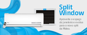 Ar-Condicionado Novo Split Window Frio 7.000 BTU/h